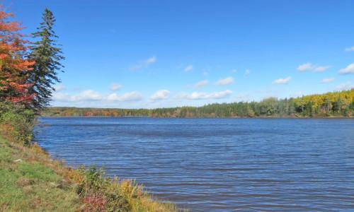 Cape Breton - Toplage am River Inhabitants - 30.350 m² großes Uferlot