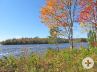 Cape Breton - Toplage am River Inhabitants - 30.350 m² großes Ufergrundstück