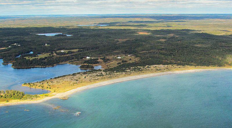Großes Grundstücks-Areal am Atlantik
