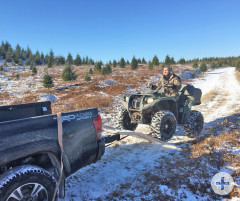 ATV-Trip am Priest Lake