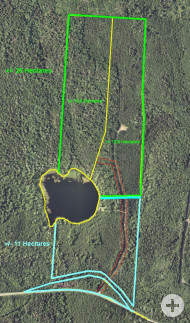 Nova Scotia - 25 Hektar großes Areal mit rd. 200 m eigener See-Uferfront!