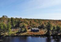 Nova Scotia - Preishit: 11,6 Hektar großes See-Grundstück mit Jagd-Cabin/Cottage in herrlicher Naturlage