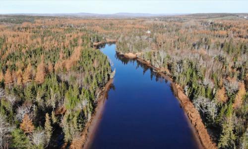 Cape Breton - Attraktive Fluss-Ufergrundstücke am River Inhabitants
