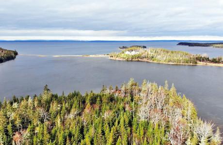 Cape Breton - Bras d`Or Lake - 32.200 m² großes Ufergrundstück mit rd. 530 m Uferfront
