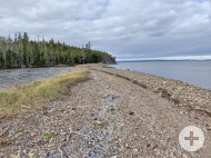 Cape Breton - Bras d`Or Lake - 32.200 m² großes Ufergrundstück mit rd. 460 m eigener Uferfront