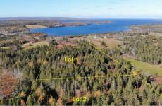 Cape Breton - 2 Hektar großes Grundstück mit herrlichem Blick auf den Bras d`Or Lake