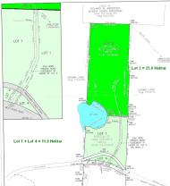 Nova Scotia - 25,6 Hektar großes Areal mit 265 Meter See-Uferfront
