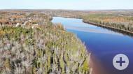 Cape Breton - Wunderschönes Ufergrundstück mit rd. 30.350 m² direkt am River Inhabitants - weitere Aufteilung möglich