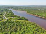 Cape Breton - Ocean River Estates - Zwei großzügige Uferlots in Top-Lage am River Inhabitants