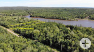 Cape Breton - Preiswertes Baugrundstück in beliebter Lage am River Inhabitants - mit Uferzugangsrecht!