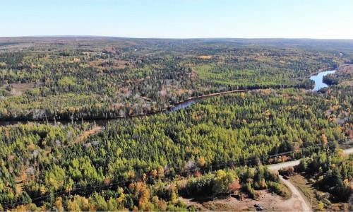 Cape Breton - Grant River Estates - Großzügige Ufer-Grundstücke in Top Lage am River Inhabitants