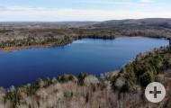 Nova Scotia - 47 Hektar mit vorbereiteter Baufläche und schönem Bachlauf
