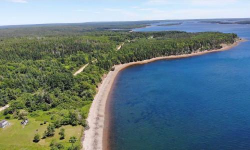 Cape Breton - Wunderschönes 16,3 Hektar großes Areal am Atlantik nahe Port Hawkesbury