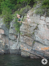 Rock-Jumping
