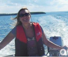 Bootsfahrt auf dem Atlantik
