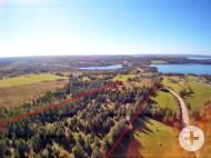 Cape Breton - Soldier´s Cove - rd. 20.600 m² grosses Grundstück mit Blick auf den Bras d`Or - nahe St. Peter´s