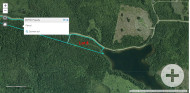 Cape Breton - Soldiers Cove - Ufergrundstück mit 29.542 m² am MacLeods Lake - nahe St. Peters und Bras d`Or Lake