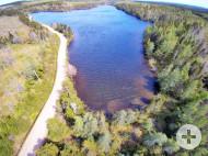 Cape Breton - Soldier´s Cove - 29.542 m² grosses Grundstück am MacLeods Lake - nahe St. Peters und Bras d`Or Lake